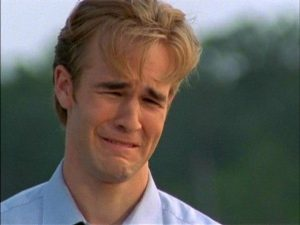 James Van Der Beek - Sad