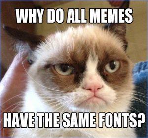 meme font