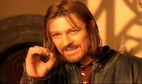 Blank Meme Man Lord of the Rings Meme